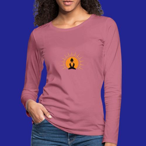 Guramylyfe logo no text black - Women's Premium Longsleeve Shirt