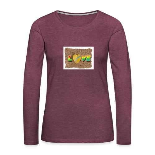 love,madinina - T-shirt manches longues Premium Femme
