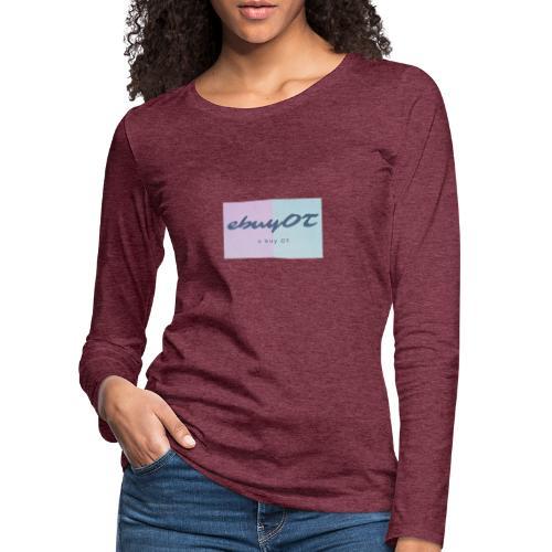 ebuyot - Maglietta Premium a manica lunga da donna