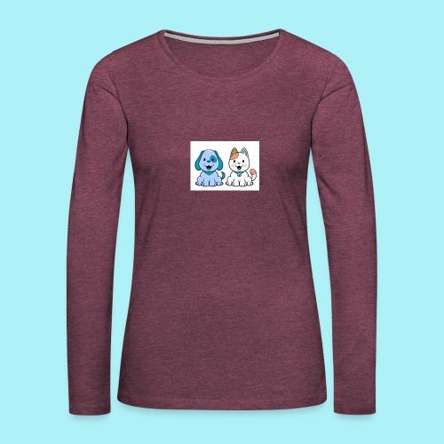 Pets animals - T-shirt manches longues Premium Femme