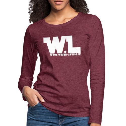 WeserLifting - Frauen Premium Langarmshirt
