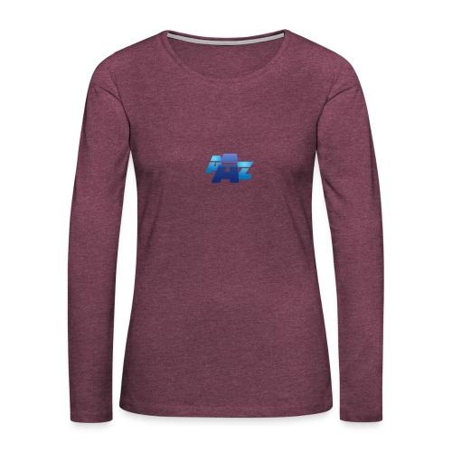 Logo unique - T-shirt manches longues Premium Femme