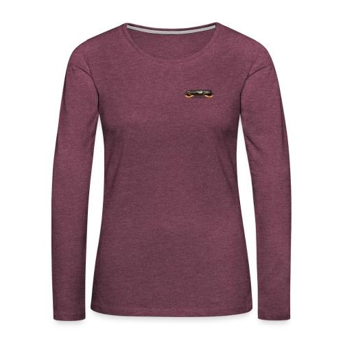 GRG Logo with URL png - Frauen Premium Langarmshirt