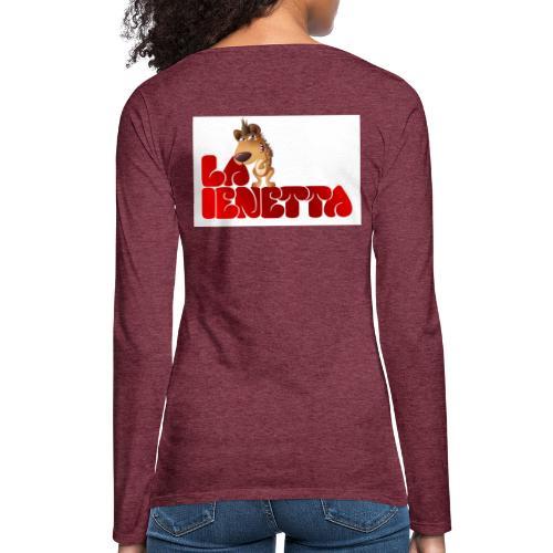La Nuova Ienetta - Maglietta Premium a manica lunga da donna