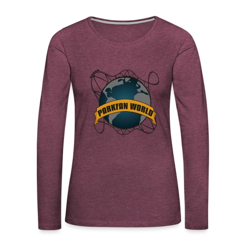 Parkfanworldpng - T-shirt manches longues Premium Femme