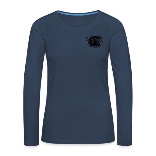 Double logo double - T-shirt manches longues Premium Femme