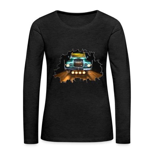 Camión clásico - Classic Truck - Camiseta de manga larga premium mujer