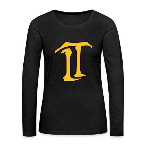 IT Premium Logo - Frauen Premium Langarmshirt