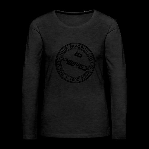 Badge - T-shirt manches longues Premium Femme