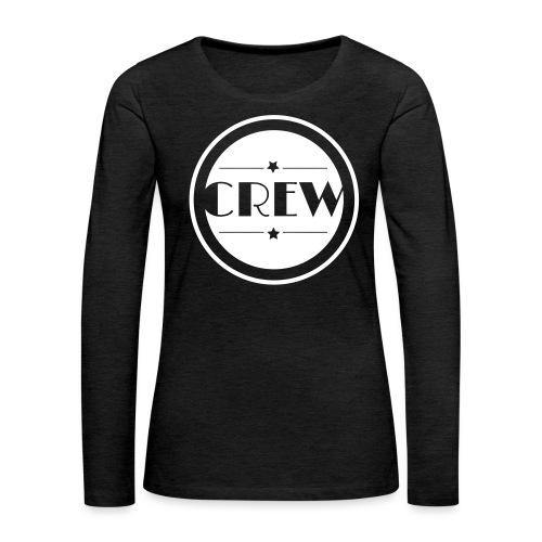CREW - Frauen Premium Langarmshirt