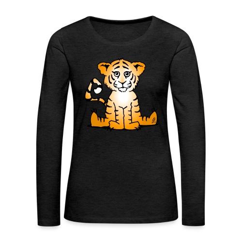 Tiger cub - Women's Premium Longsleeve Shirt