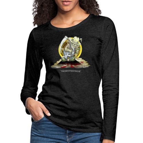 PsychopharmerKarl - Frauen Premium Langarmshirt