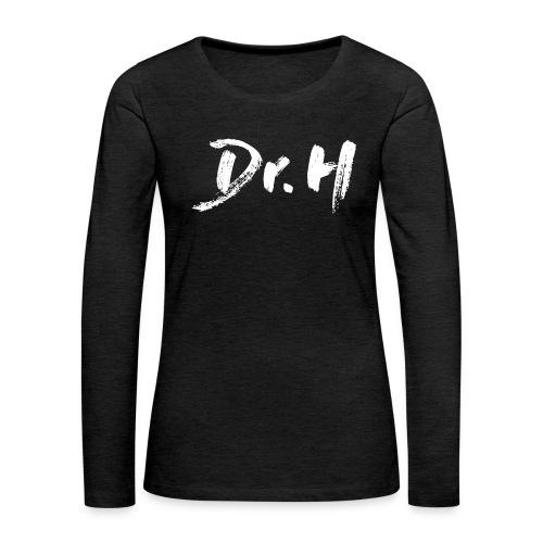 Sweat femme col bateau Dr. H - T-shirt manches longues Premium Femme