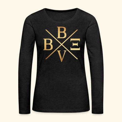 BVBE Gold X Factor - Women's Premium Longsleeve Shirt