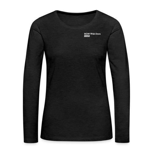 MDN Web Docs Logo - Women's Premium Longsleeve Shirt