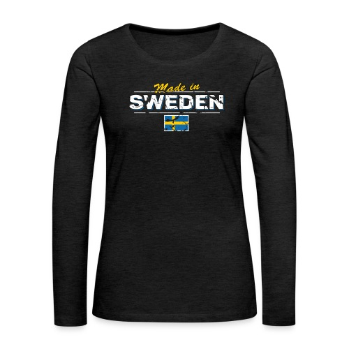 MADE IN SWEDEN - Women's Premium Longsleeve Shirt