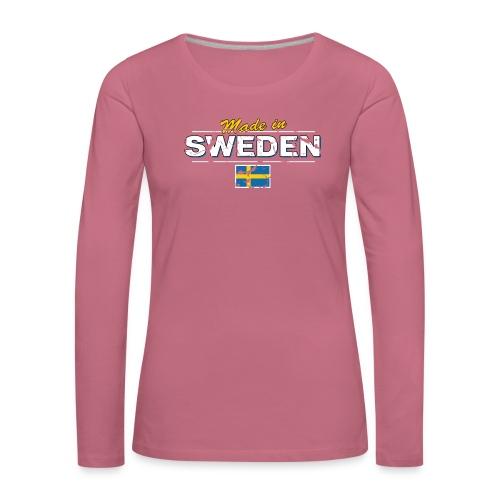 MADE IN SWEDEN - Women's Premium Longsleeve Shirt