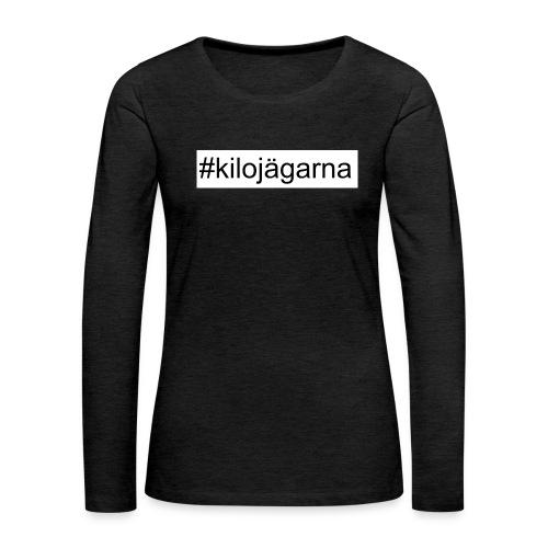 #kilo - Långärmad premium-T-shirt dam