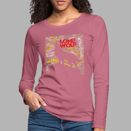 Lone Wolf - Women's Premium Longsleeve Shirt
