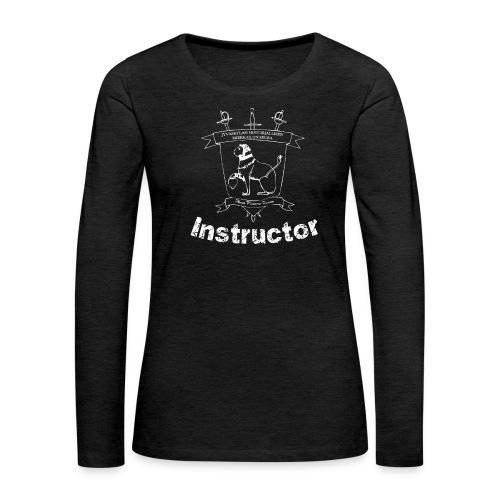 Ohjaajien paita, naisten malli - Naisten premium pitkähihainen t-paita