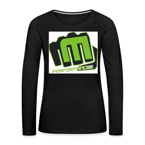 m_performances_jpg - Maglietta Premium a manica lunga da donna