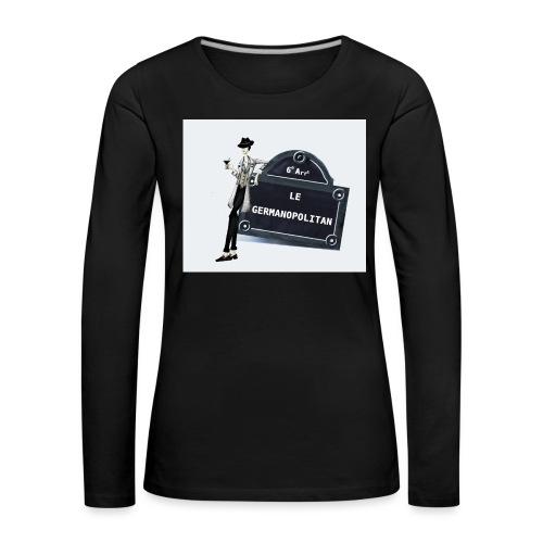 Sac Le Germanopolitan - T-shirt manches longues Premium Femme