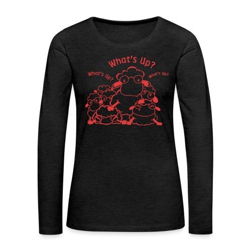 yendasheeps - Vrouwen Premium shirt met lange mouwen