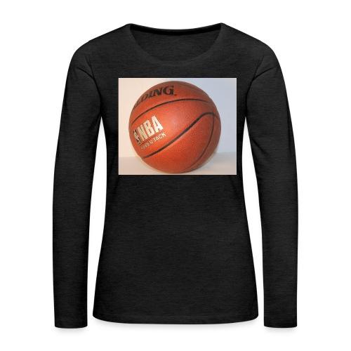 ball_flickr - Naisten premium pitkähihainen t-paita