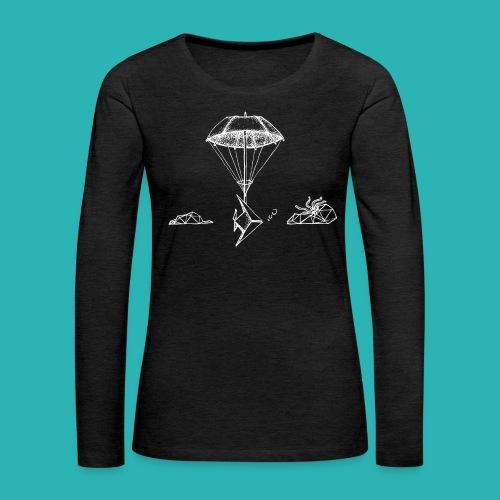 Galleggiar_o_affondare-png - Maglietta Premium a manica lunga da donna