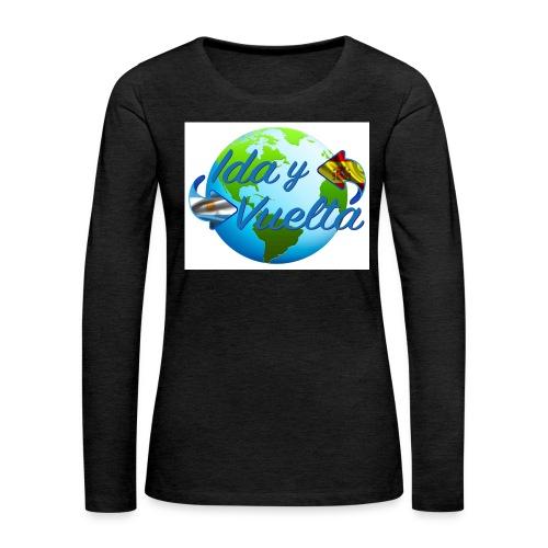 Ida y Vuelta-jpeg - Camiseta de manga larga premium mujer