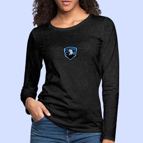HypeCw logo (Silver) - Women's Premium Longsleeve Shirt