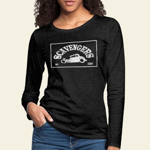 scavengers1 - Dame premium T-shirt med lange ærmer