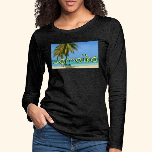 JAMAIKA - Frauen Premium Langarmshirt