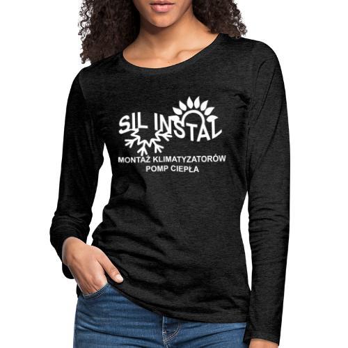 sil instal - Koszulka damska Premium z długim rękawem