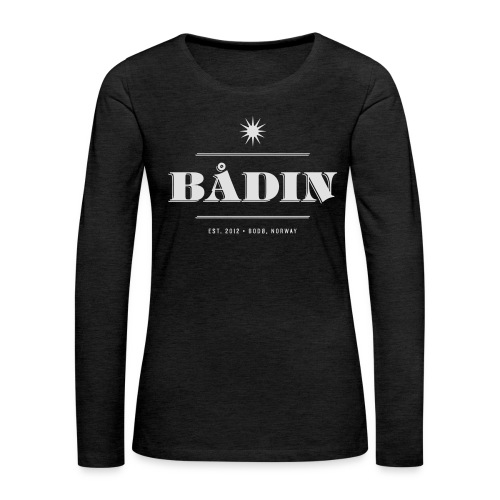 Bådin - black - Premium langermet T-skjorte for kvinner