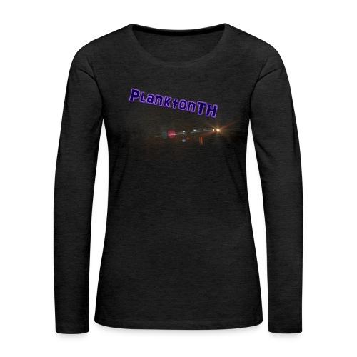 PlanktonTH, Lens Flare - Naisten premium pitkähihainen t-paita
