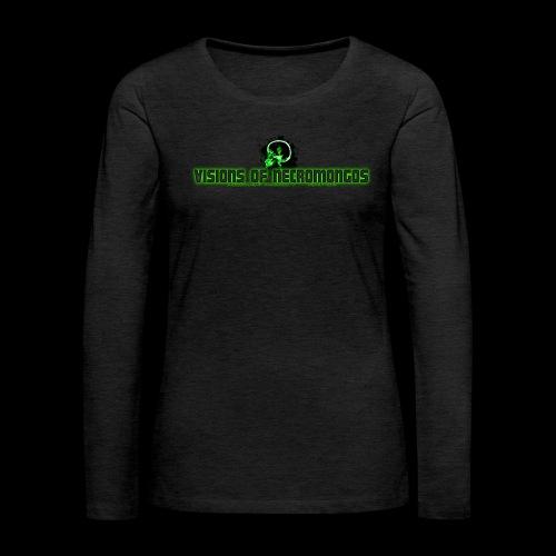 Necromongo Logo ONE - Frauen Premium Langarmshirt