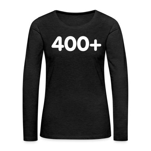 400 - Vrouwen Premium shirt met lange mouwen