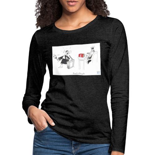Simul et Singulis - T-shirt manches longues Premium Femme