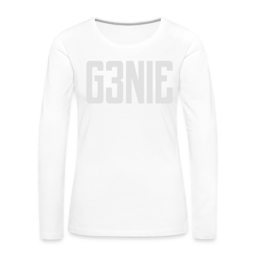 G3NIE sweater - Vrouwen Premium shirt met lange mouwen