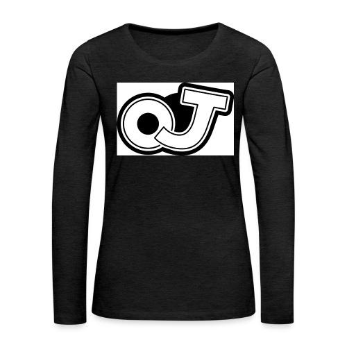 OJ_logo - Vrouwen Premium shirt met lange mouwen
