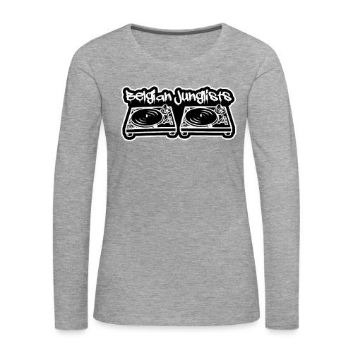Belgian Junglists 2 - Women's Premium Longsleeve Shirt