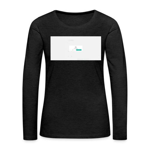dialog - Women's Premium Longsleeve Shirt