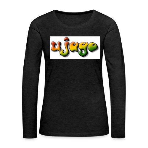 ujago farbig - Frauen Premium Langarmshirt
