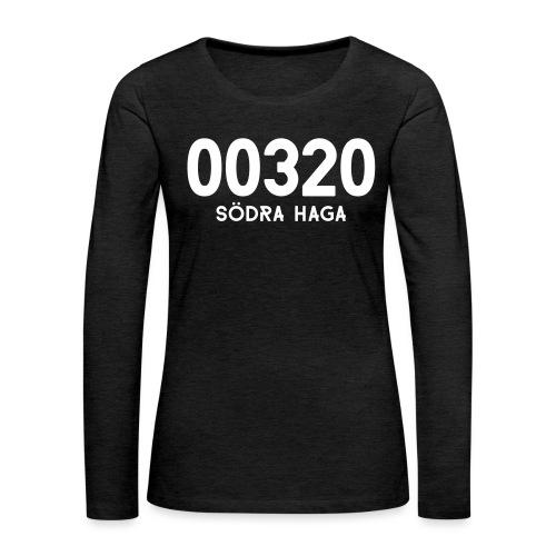 00320 SODRAHAGA - Naisten premium pitkähihainen t-paita