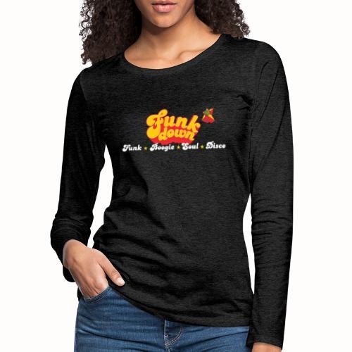 FunkDown Official Merchandise (med genrer) - Dame premium T-shirt med lange ærmer