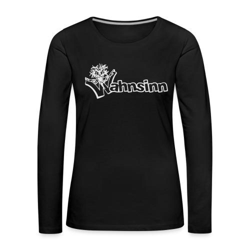 Wahnsinn Logo - Vrouwen Premium shirt met lange mouwen