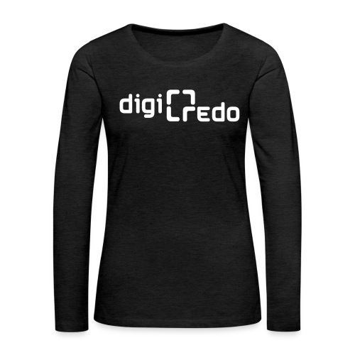 digiredo2 w - Vrouwen Premium shirt met lange mouwen