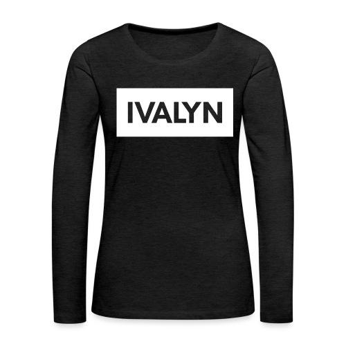 IVALYN2 png - Women's Premium Longsleeve Shirt