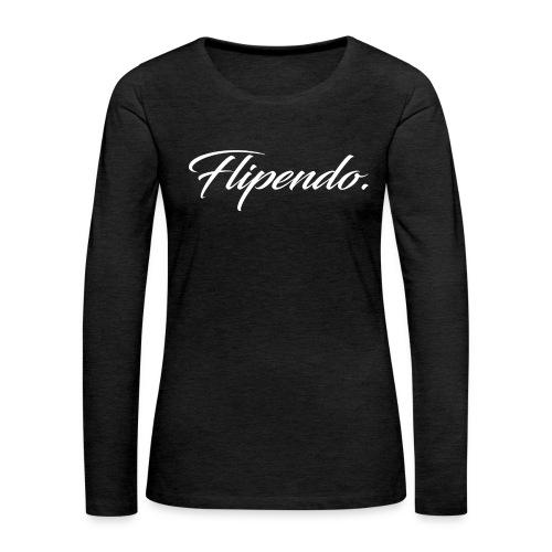Flipendo. - Vrouwen Premium shirt met lange mouwen